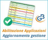 Abilitazione Applicazioni: aggiornamento gestione